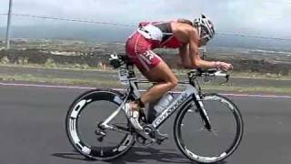 Kona 2011 - Women Pros Cycling, high speed slo-mo