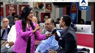 abp news live debate on narendra modi in ghoshanapatra