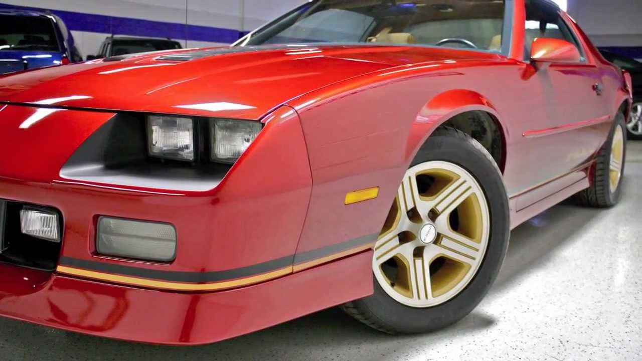 Camaro 1988 chevy camaro : 1988 Chevrolet Camaro Z28 IROC-Z--Midwest Auto Collection with ...