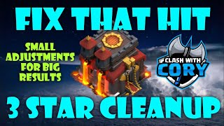 TURN THAT 2 STAR INTO A 3 STAR! MAKE SMALL ADJUSTMENTS TO TH10 WAR ATTACKS FOR THE 3! CLASH OF CLANS
