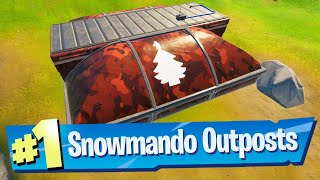 Visit different Snowmando Outposts and Search Chests Location - Fortnite (Operation Snowdown)