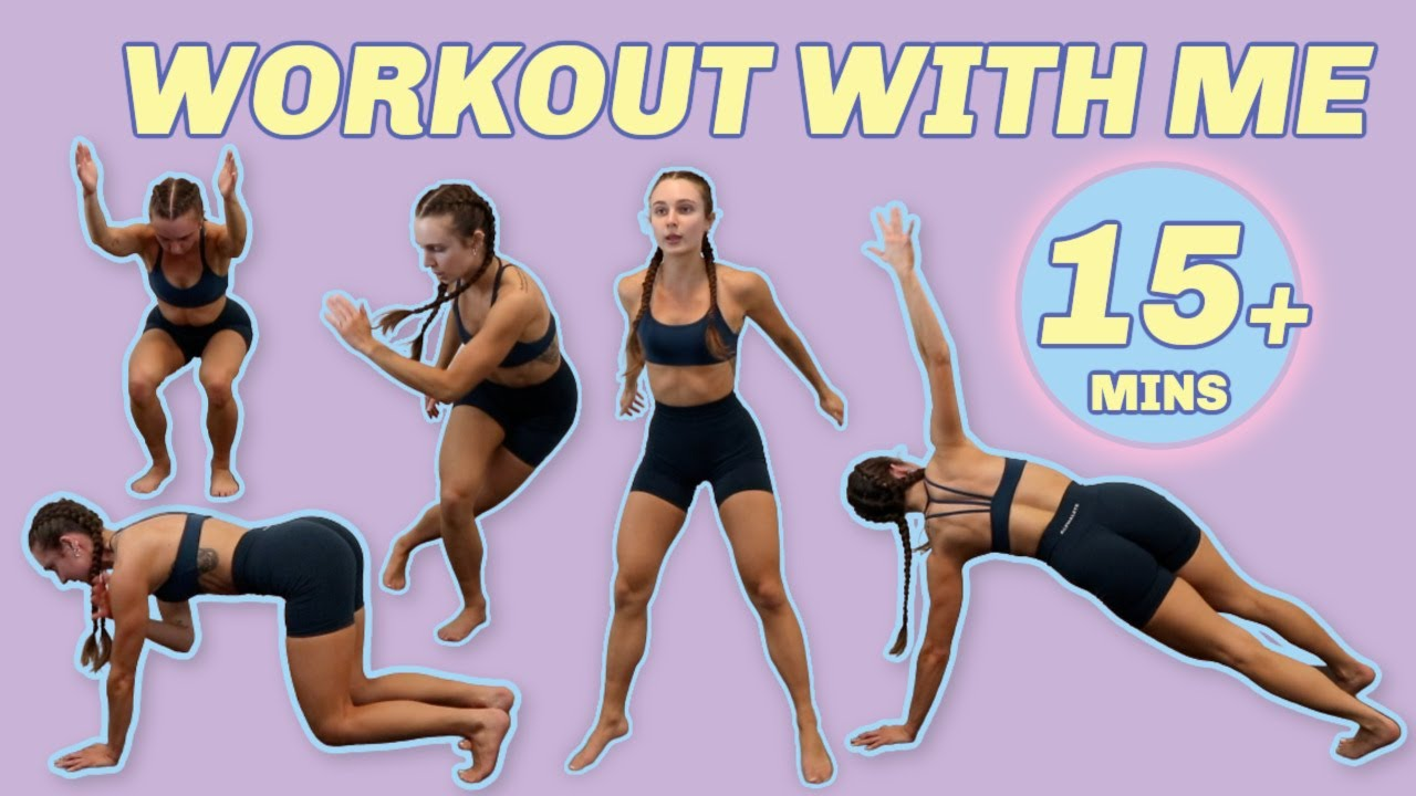 NO REPEAT follow along workout with me!! 15, 30, 45 min options | NO EQUIPMENT
