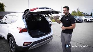 How to Use and Adjust your Power Lift Gate on Your Hyundai at Grimsby Hyundai