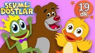 Ayı ve çeşitli hayvan şarkıları  Sevimli Dostlar Bebek Şarkıları  Çocuk şarkıları  Nursery Rhymes