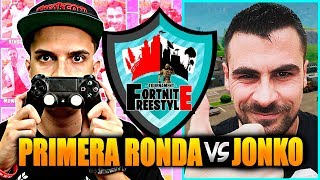 FORTNITE FREESTYLERS TORNEO! 16th vs. JONKO #FortniteFreestyleTournament