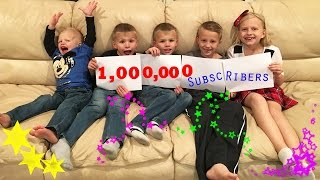 1,000,000 SUBSCRIBERS - THANK YOU!!!