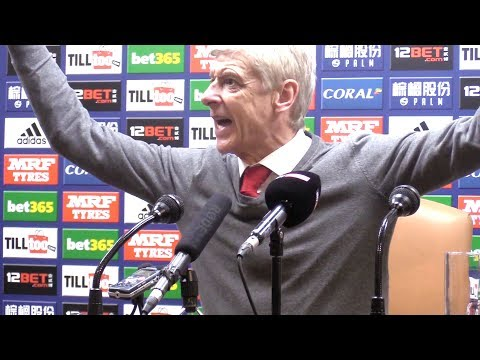 West Brom 1-1 Arsenal - Arsene Wenger Post Match Press Conference - Premier League #WBAARS