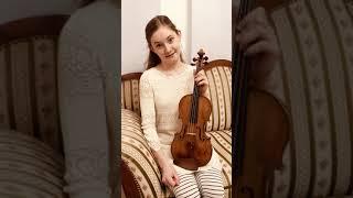 Alma's new violin