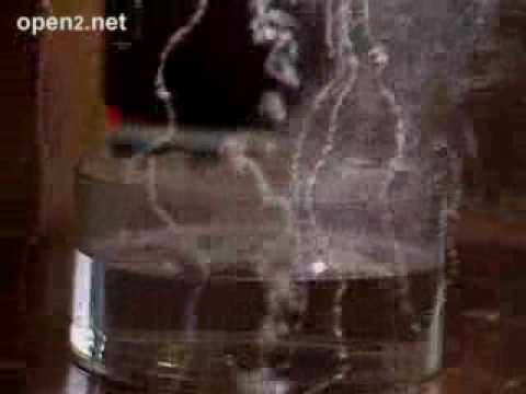 Alkali Metals: Explosive reactions