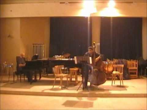 Sperger Sonata 1st Mov Double Bass Ahmad Osman , Piano Mohamed Saleh