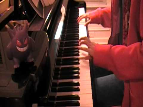 Pokemon Red/Blue/Yellow - Lavender Town on piano