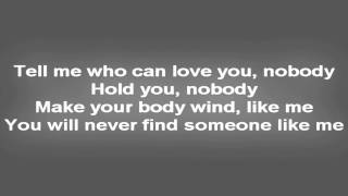 Mohombi - bumpy ride LYRICS