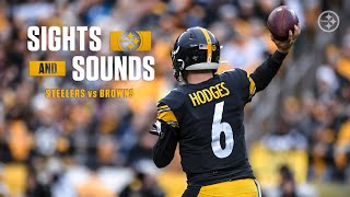 "Mic'd Up: Steelers defeat Browns in Week 13: ""December football. READY TO WORK."""
