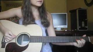 TAylor Swift's Mary's Song (Oh My My My) Guitar tutorial by Danielle