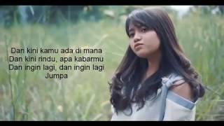 lirik Hanin Dhiya OST Dilan Rindu Sendiri Kaulah Ahlinya Bagiku Dulu Kita Masih SMA