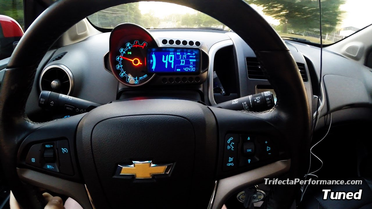 Trifecta Tune Chevrolet Sonic Installation 0 60 Review More Hd 1 4l You