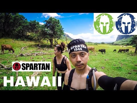 Getting Stuck On A Mountain During The Spartan Beast In Hawaii With The Spartan Super The Next Day