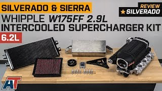 2014-2017 Silverado & Sierra Whipple W175FF 2.9L Intercooled Supercharger Kit 6.2L Review