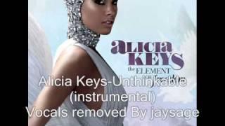 Alicia Keys - Unthinkable  (Instrumental)