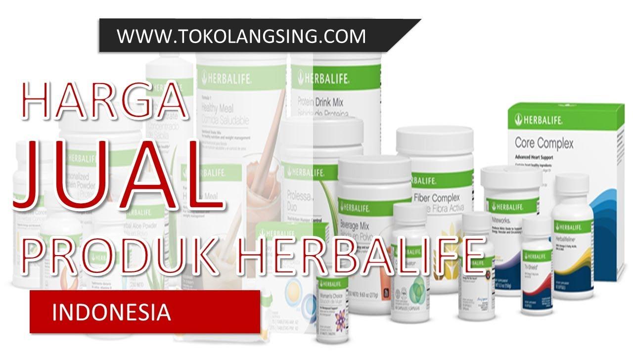 Harga Jual Produk Herbalife Indonesia 0857 3160 3572 - YouTube
