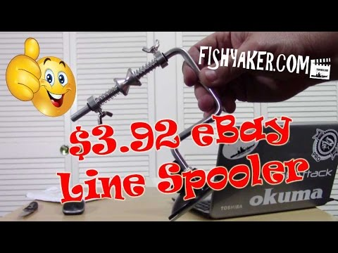 $3.92 eBay Fishing Line Spooler: Episode 468