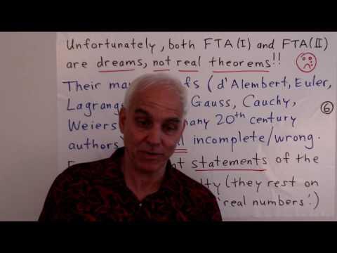 MathFoundations216: The fundamental dream of algebra