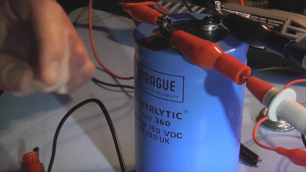hight resolution of diy capacitor discharge tool
