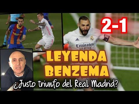 ¿JUSTO TRIUNFO DEL REAL MADRID ANTE EL BARCELONA? BENZEMA, MESSI, PLAN DE ZIDANE Y MÁS #MundoMaldini