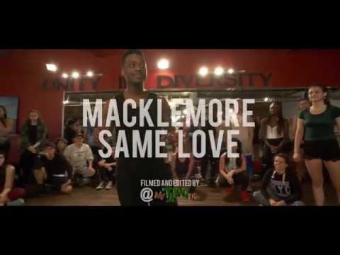 SAME LOVE - @MACKLEMORE BY JOJO GOMEZ & CHARLES ROY