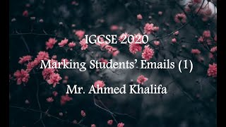 Marking Student's Emails (1)