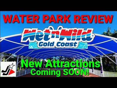 WET N WILD Water Park - Gold Coast   Review & New Attractions!