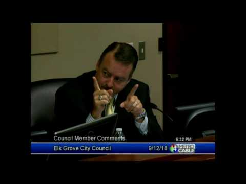 Tempers Flare Between Elk Grove City Council Members During Meeting