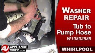 Whirlpool Washer - Tub Pump Hose - Diagnostic & Repair