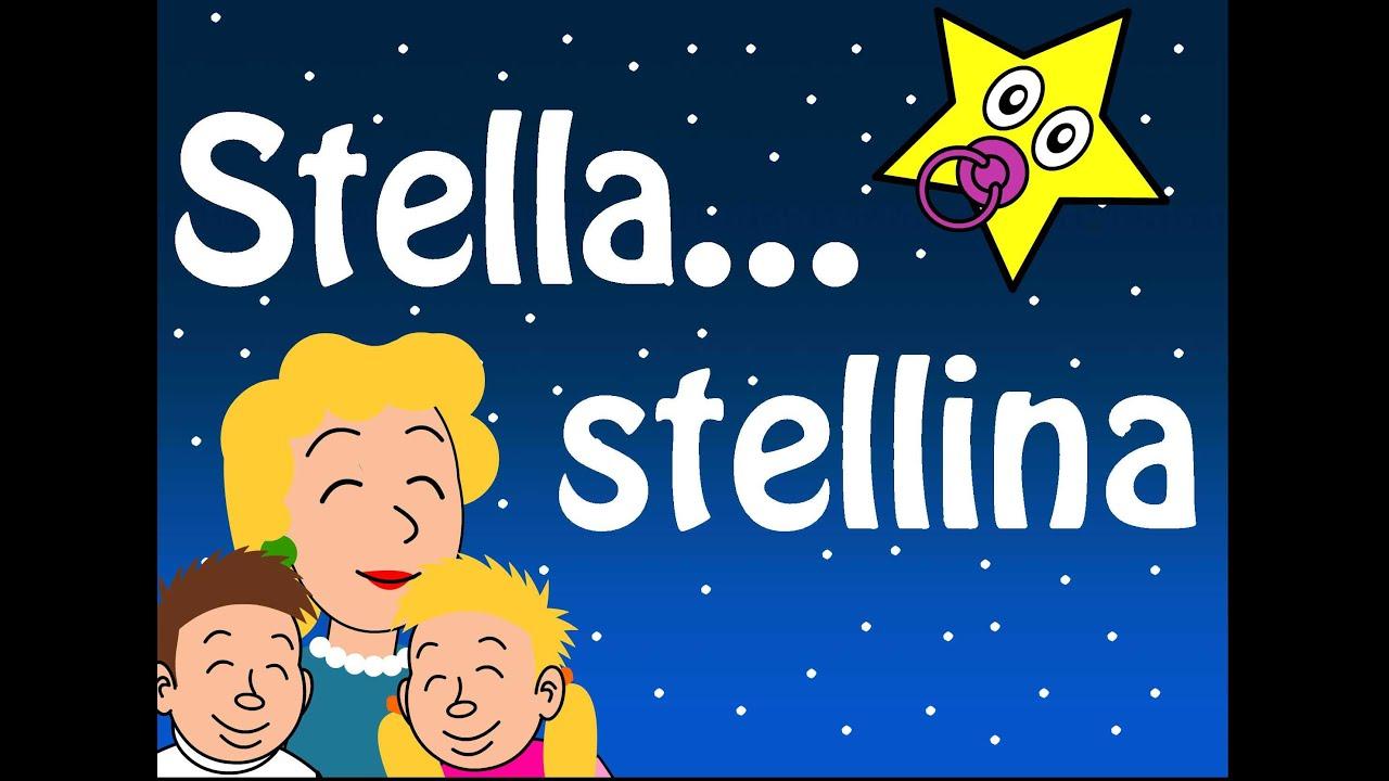Stella stellina filastrocche per bambini youtube for Canzoncini per bambini piccoli