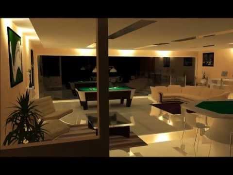 Interior design - Game Room - YouTube