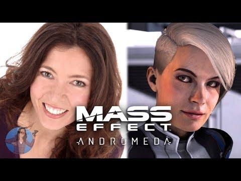 Mass Effect Andromeda | Actor, Jules de Jongh as Cora Harper | BIOWARE VOICES