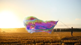 Giant Soap Bubbles - Slow Mo Time