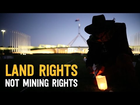 Land Rights Not Mining Rights