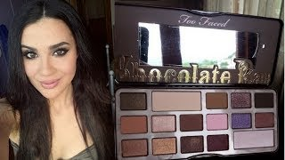 Chocolate&violet make up❤Chocolate Bar Too Faced❤ Thumbnail