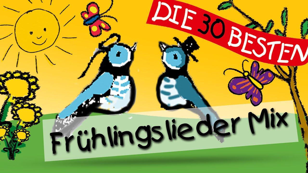 Frühlingslieder Mix Kinderlieder Youtube