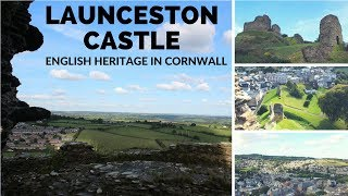 Launceston Castle - English Heritage in Cornwall England