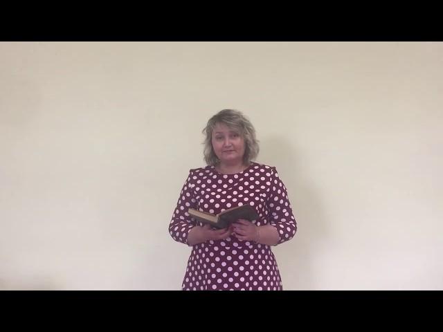 Изображение предпросмотра прочтения – ЕкатеринаЛепихина читает отрывок изпроизведения «Гой ты, Русь, моя родная!..» С.А.Есенина