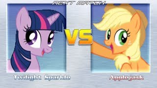 This game is like MLP:Fighting Is Magic style And Combo harder (But...