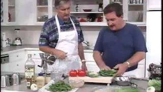 Marinated Tuna Steaks.& Combination Salad - Healthy Cooking W/ Jack Harris & Charles Knight