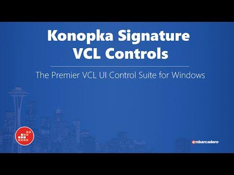 14 - Konopka Signature VCL Controls - Ray Konopka