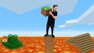 Minecraft Survival Except Lava Is Rising!