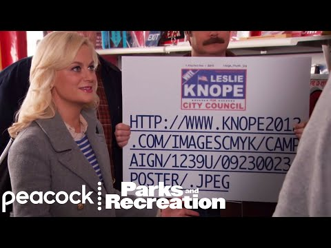 Leslie's Campaign Sign - Parks And Recreation