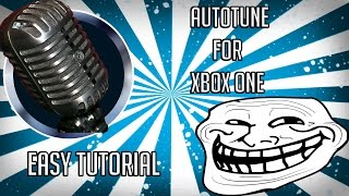 Voice Changer on Xbox One - Tutorial