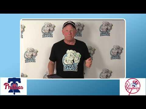 New York Yankees vs Philadelphia Phillies Game 1 Free Pick 8/5/20 MLB Pick and Prediction