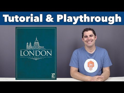 London 2nd Edition Tutorial & Playthrough - JonGetsGames